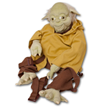 STAR WARS Yoda Novelty Plush Bag Backpack Buddy
