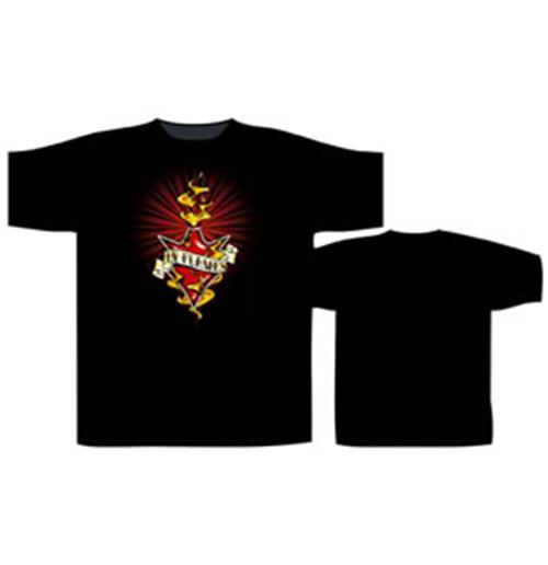 In Flames-Burning Jester-Tshirt