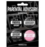 Parental Advisory-Badge Pack