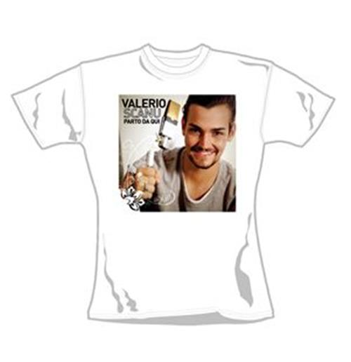 Scanu Valerio T Shirt Parto Da Qui. Emi Music officially licensed t-shirt.
