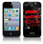 Jay Z Iphone Cover 4g - Red Logo. Emi Music officially licensed product.