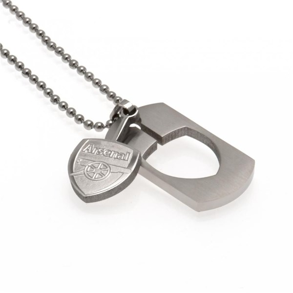 Arsenal F.C. Dog Tag and Chain CO