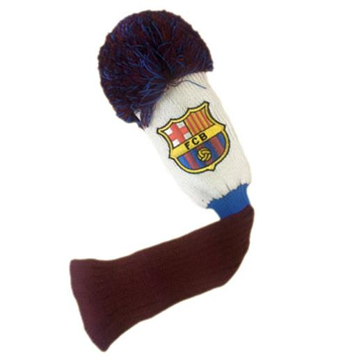 F.C. Barcelona Headcover Pompom (Fairway)