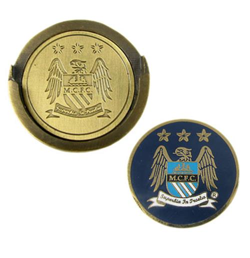 Manchester City F.C. Hat Clip and Marker