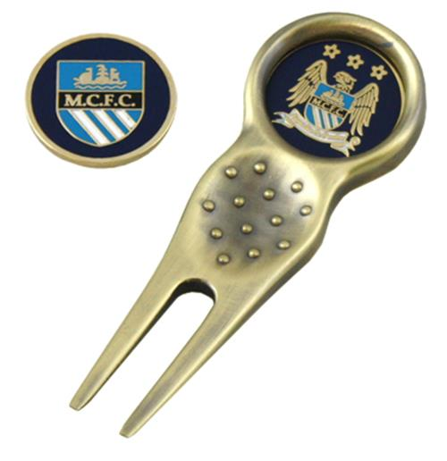 Manchester City F.C. Divot Tool and Marker