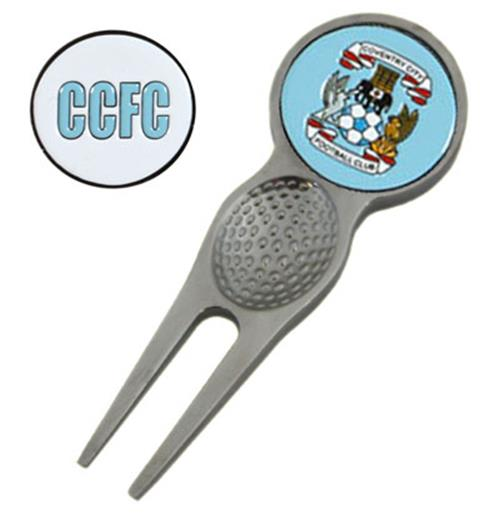 Coventry City F.C. Divot Tool and Marker