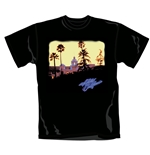 The Eagles T Shirt Hotel California. Emi Music officially licensed t-shirt.