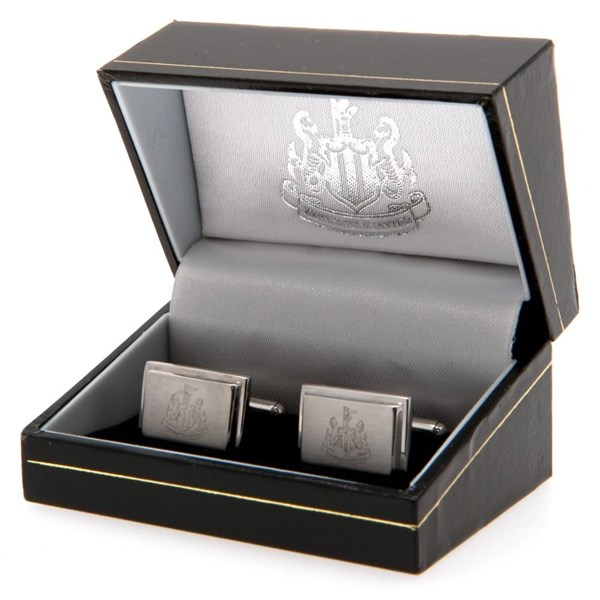 Newcastle United F.C. Stainless Steel Cufflinks