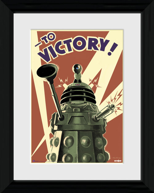 Doctor Who Victory Framed Photographic Print