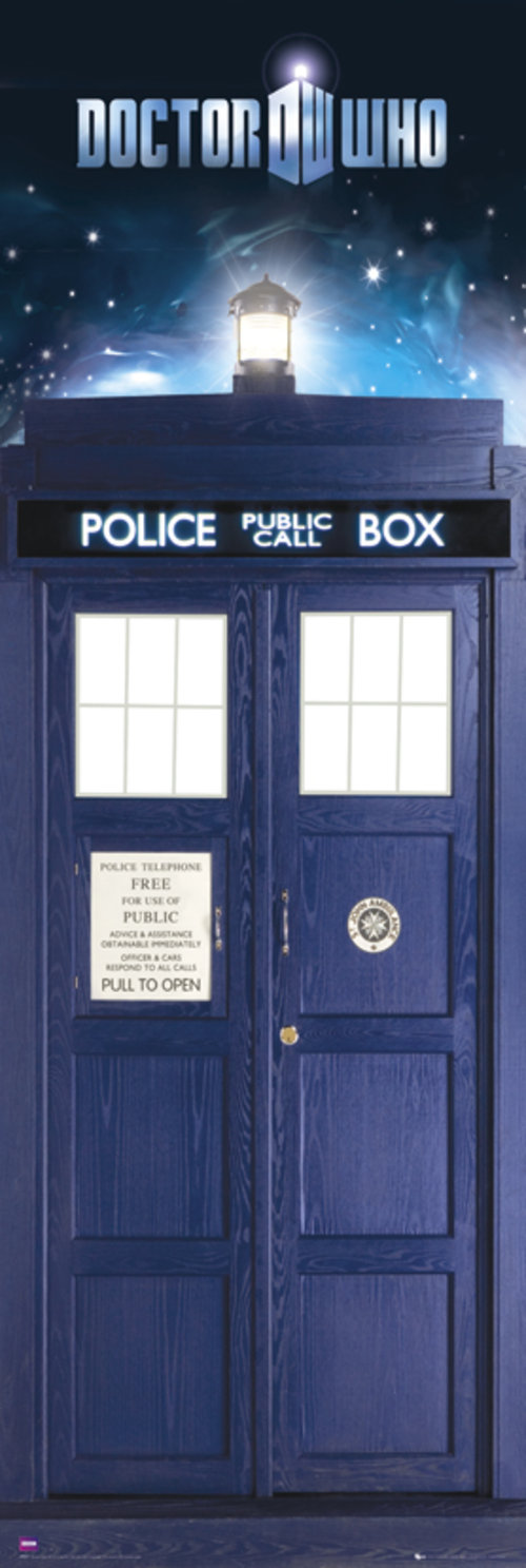 Doctor Who Tardis Door Poster