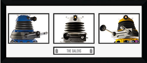 Doctor Who Daleks Framed Photographic Print