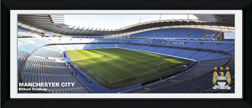 Manchester City Stadium Framed Photographic Print