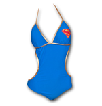 SUPERMAN Supergirl Juniors Monokini Swimsuit - Blue