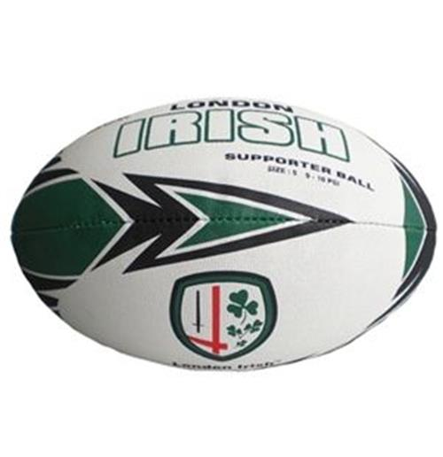 London Irish Supporter Rugby Ball