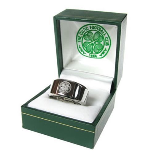Celtic F.C. Band Ring Large