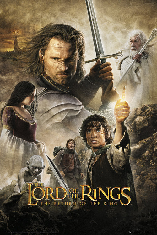 Lord Of The Rings Return Of The King Maxi Poster