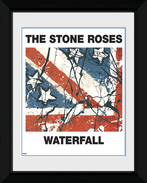 The Stone Roses Waterfall Framed Photographic Print