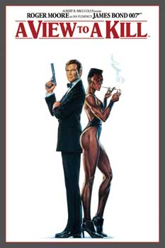 007   James Bond   A View To A Kill   Poster