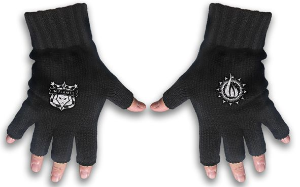 In Flames Logo Gloves
