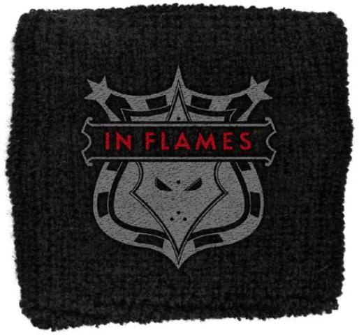 In Flames   Shield Logo   Wristband