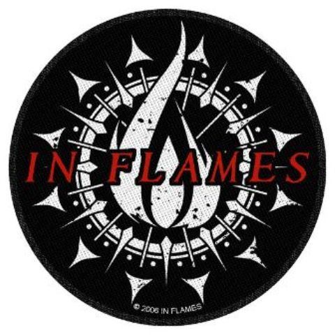 In Flames   Flame Circular   Patch