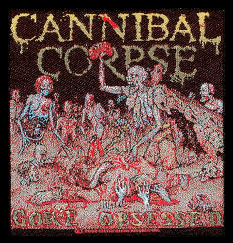 Cannibal Corpse Gore Obsessed Patch