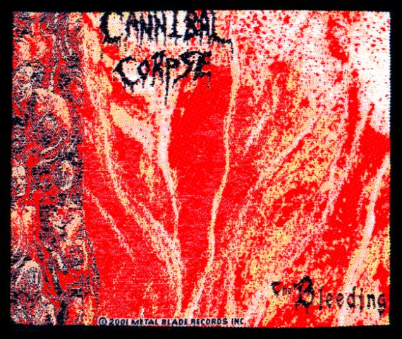 Cannibal Corpse The Bleeding Patch