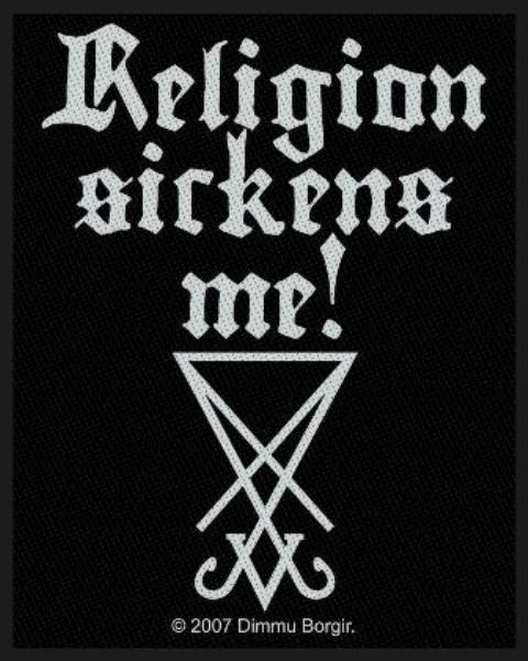 Dimmu Borgir   Religion Sickens ME!   Patch