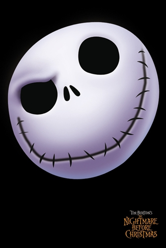 Nightmare Before Christmas   Face Jack   Poster