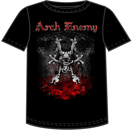 Arch Enemy Rise Of The Tyrant Tshirt