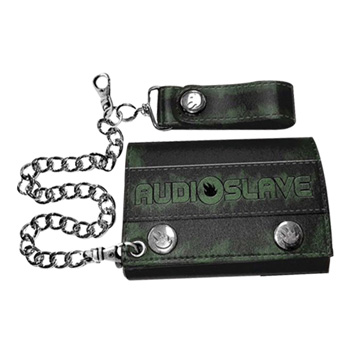 Audioslave Logo W/CHAINS Leather Wallet
