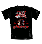 Ozzy Osbourne T Shirt Blizzard. Emi Music officially licensed t-shirt.