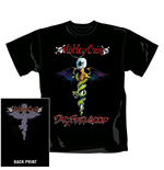 Motley Crue T Shirt Dr Feelgood. Emi Music officially licensed t-shirt.