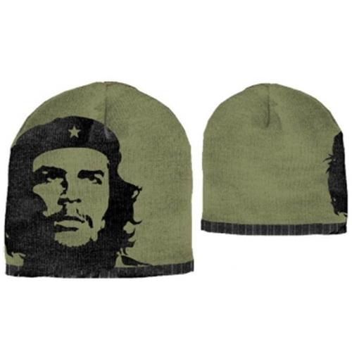 Official Che Guevara Green Face Beanie  Buy Online on Offer dd0f5621a742