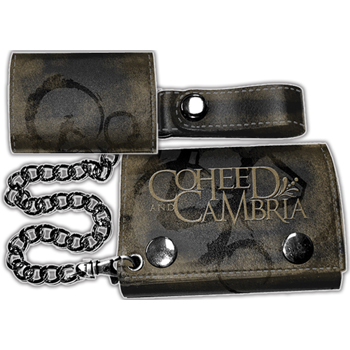 Coheed & Cambria Logo W/CHAINS Leather Wallet