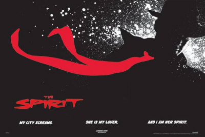The Spirit   Black   Poster