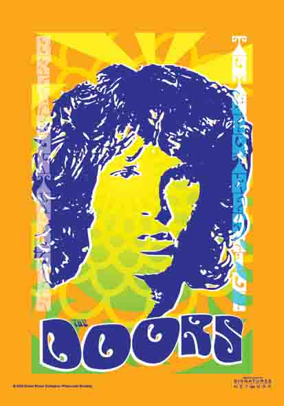 The Doors Orange Flag