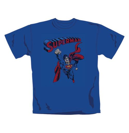 Superman   Distressed Fly   Tshirt