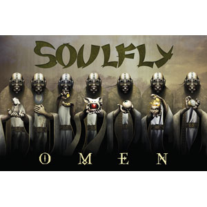 Soulfly Omen Flag