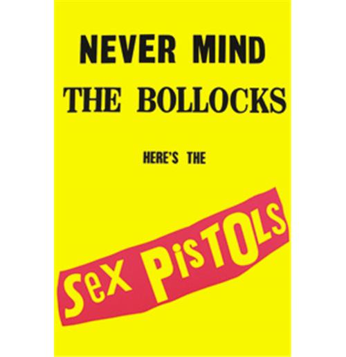 Sex Pistols Never Mind The Bollocks Magnets