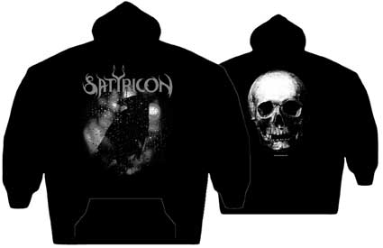 Satyricon Black Crow On A Tombstone Hoodie