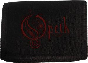 Opeth Logo Velcro Wallet