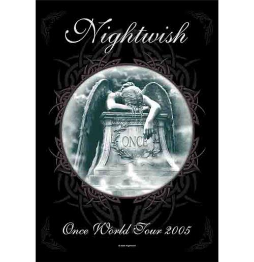 Nightwish Once World Tour Flag