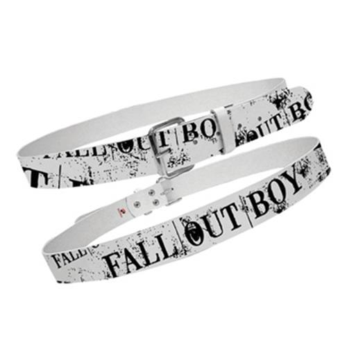 Fall Out Boy Full Print Leather Belt
