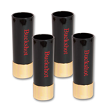 Buckshot Shotglass Set 4-Pack