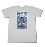 Dr. Who Dimensionally Transcendental T Shirt Grey