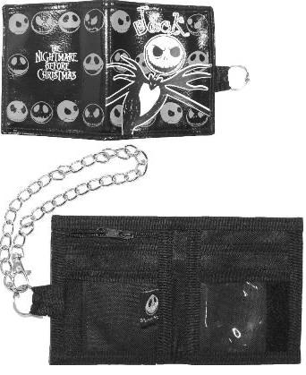 Nightmare Before Christmas Jack Faces Wallet