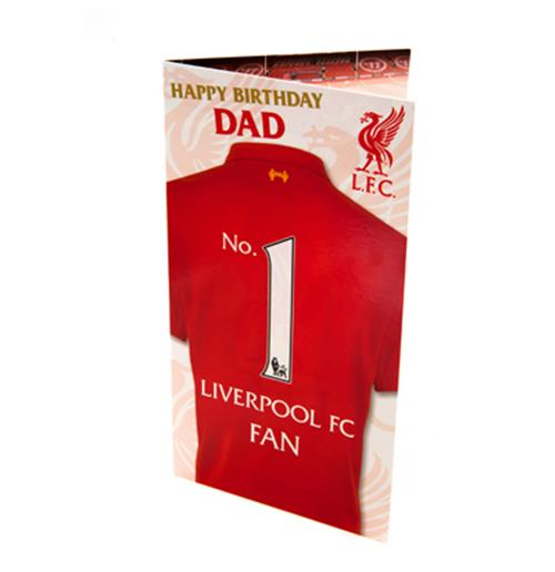 Liverpool F.C. Birthday Card Dad