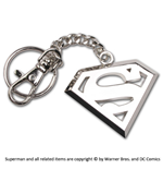 Superman Metal Key Ring Logo