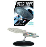 Star Trek Official Starships Collection Magazine with Model #01 USS Enterprise NCC-1701-D